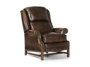 hancock living room sadler high leg recliner 1044