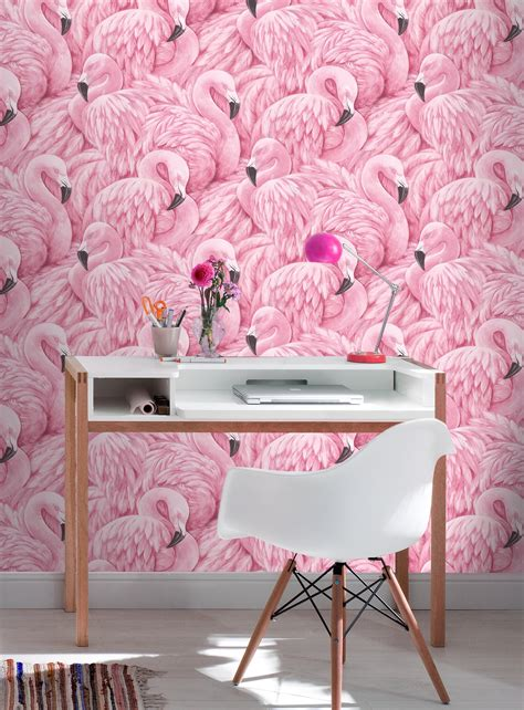 Rasch Wallpaper rasch pink flamingo wallpaper 277890