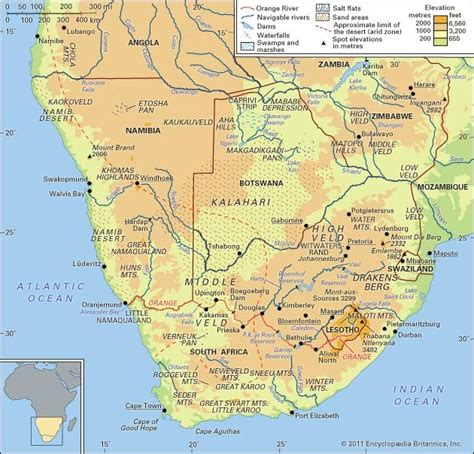 southern africa map maps southern africa matthew