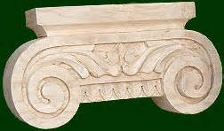 I Cherry C125 capitals and custom crafted and wood carved in