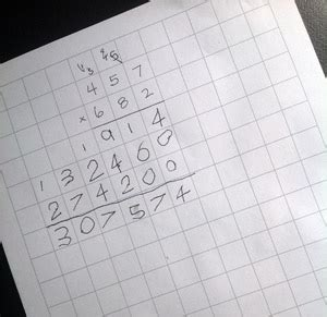 printable graph paper for division use graph paper to make multiplication and long division
