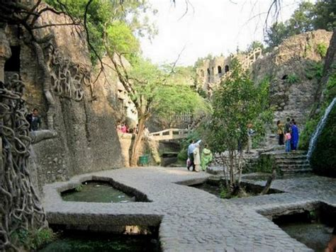 The Rock Garden Of Chandigarh Rock Garden Chandighar