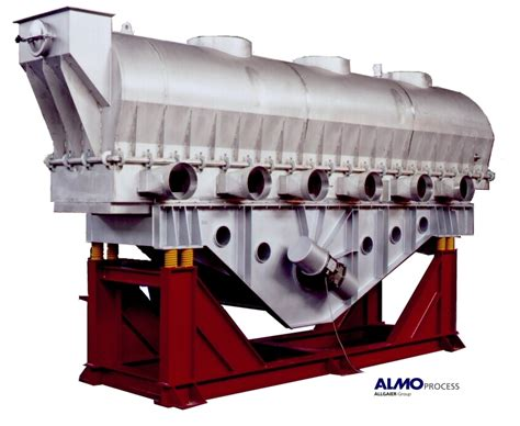 drum or fluid bed dryers powder bulk solids