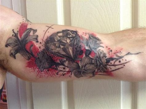 trash polka rose tattoo 10 best images about trash polka on