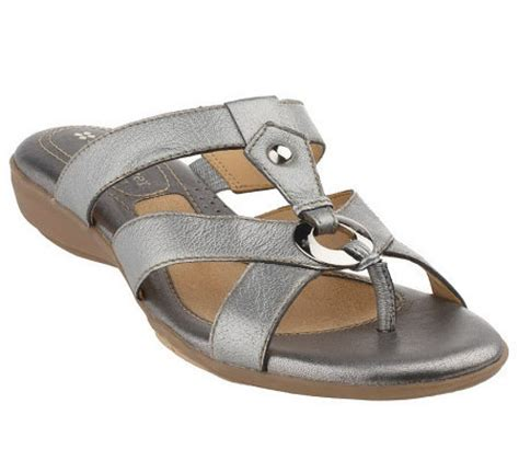 comfort thong sandals naturalizer leather multi strap comfort thong sandals