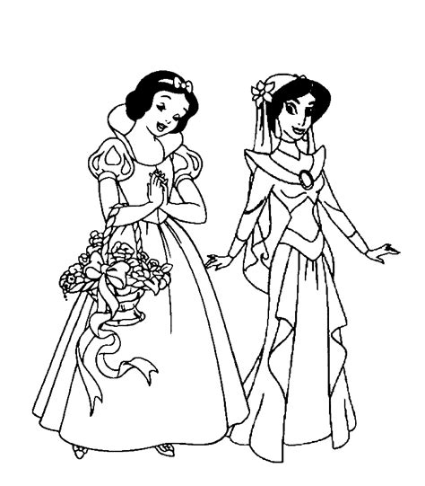 All Disney Princess Coloring Pages Coloring Home All Disney Princess Pictures To Color Free Coloring Sheets