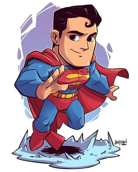 imagenes superheroes vectores superman chibi drawing oxmariieee visit to grab an