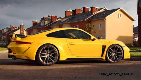 porsche stinger 2015 porsche 991 stinger by topcar now available for all 911