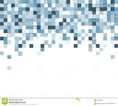 background pattern technology squares technology background stock vector illustration