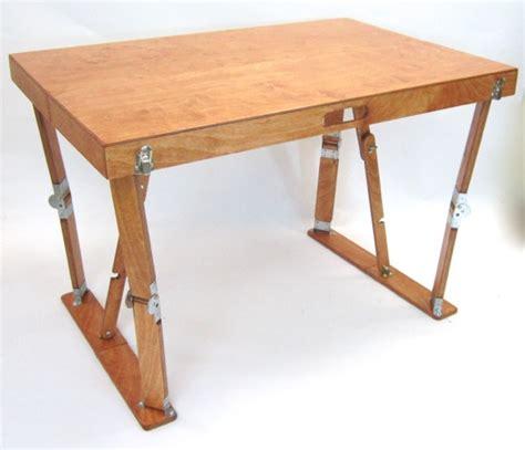 folding desk crafted folding desk spiderlegs