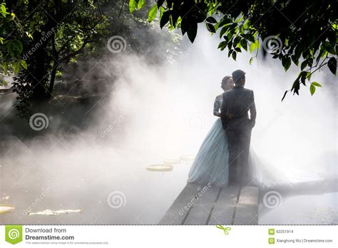 Wedding Time Images by Wedding Photos In Fog Stock Photo Image Of Dreamy