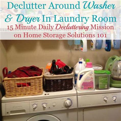 home storage solutions 101 how to declutter your laundry room