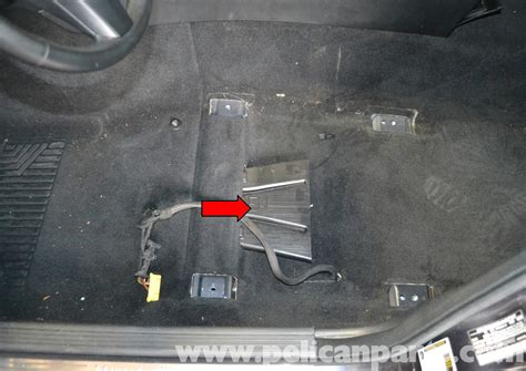 Mercedes Benz W204 Yaw Rate Sensor Replacement 2008