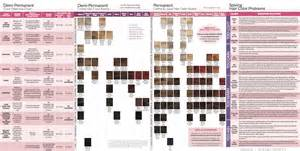 ion color brilliance chart what color is in ion color chart brown hairs