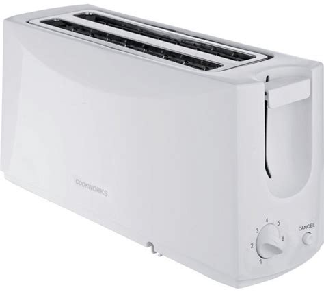 Argos Toaster 4 Slice buy simple value 4 slice toaster white at argos co uk your shop for toasters kitchen