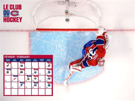 Calendrier Des Canadiens 1000 Ideas About Canadien De Montr 233 Al Calendrier On