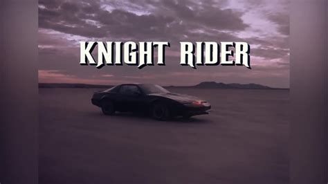 theme music knight rider knight rider supercar theme song cover youtube