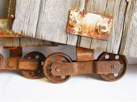 Antique Barn Door Rollers Two Antique Barn Door Rollers Frantz Wheels W Barn Wood