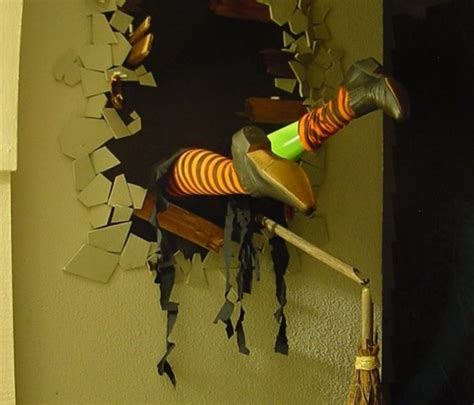 Witches For Halloween Decorations 10 Spooky Diy Witch Halloween Decor Diy
