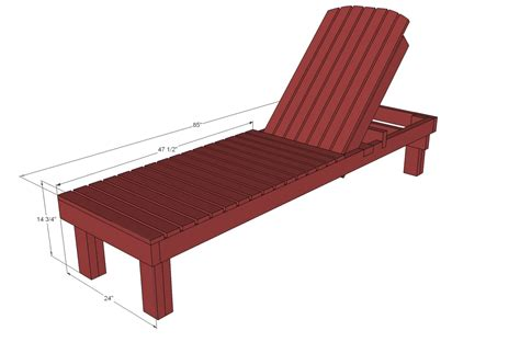 wooden chaise lounge chairs white 35 wood chaise lounges diy projects