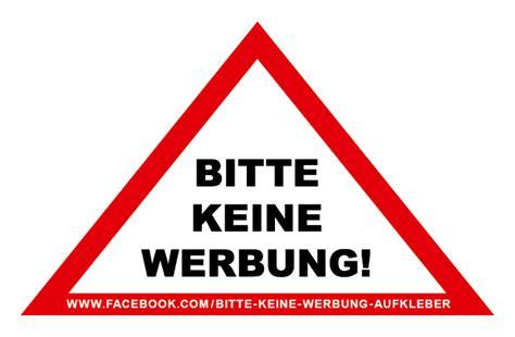 Bitte Keine Werbung Aufkleber Vorlage by Bitte Keine Werbung 171 Sticker Ticker De