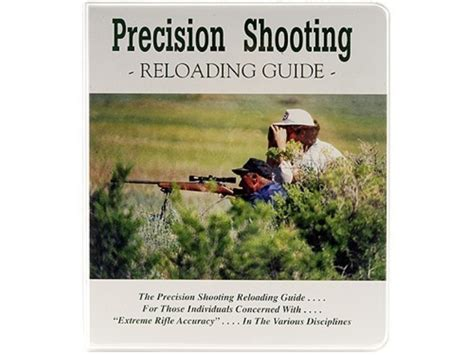 a shooters guide to trapshooting books precision shooting reloading guide book edited by mpn
