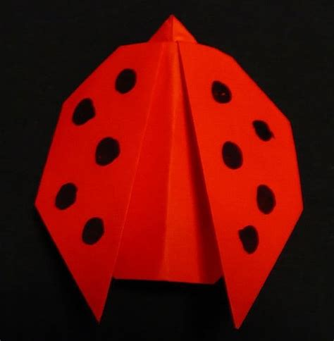 How To Make A Ladybug Out Of Paper - how to make a bug out of construction paper ehow