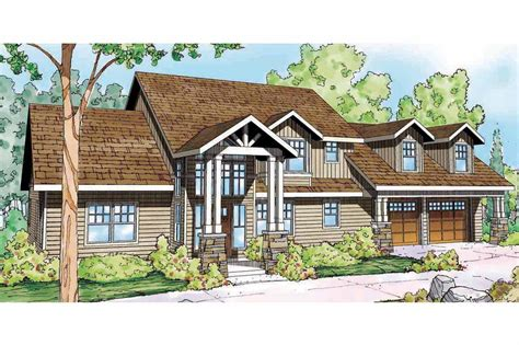 Cabin Style Home Plans by Lodge Style House Plans Grand River 30 754 Associated