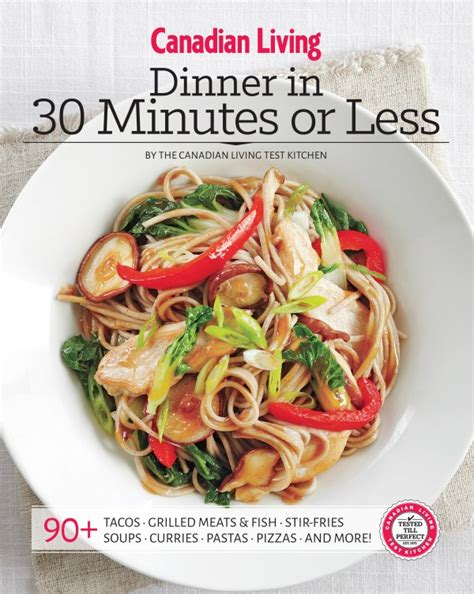dinner in 30 minutes or less living lou