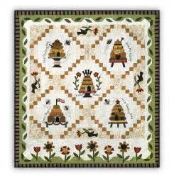 honey bee quilt block of the month or all at once