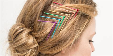 diy hairstyles with bobby pins diy jazz up bobby pins to create pretty hairstyles