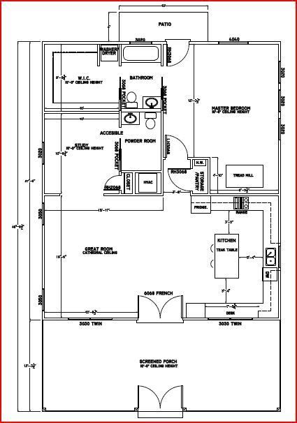 Plans For Retirement Cabin by Floor Plan Low Budget Retirement Cottage