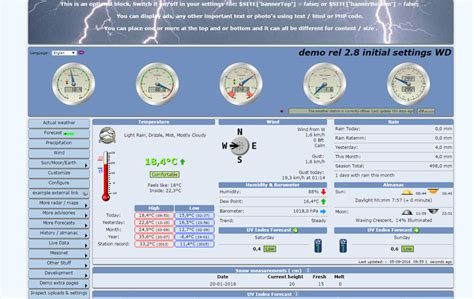 Best Templates For Your Weather Website 34 Weather Bits Free Weather Website Templates