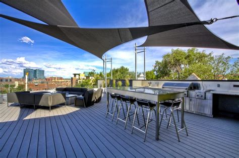 sail cloth shade ideas patio contemporary with steel table