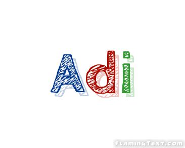 Adi Logo Free Name Design Tool From Flaming Text