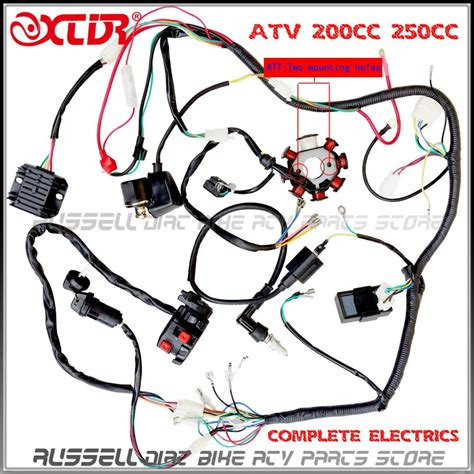 lifan 200cc atv wiring shineray 200cc wiring diagram