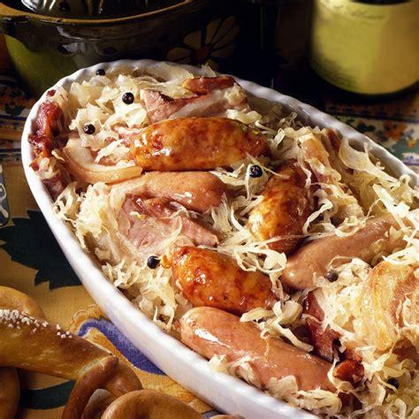 colmar cuisine recette la choucroute de colmar