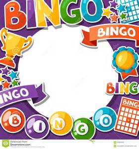 bingo or lottery game background stock illustration image 62856852