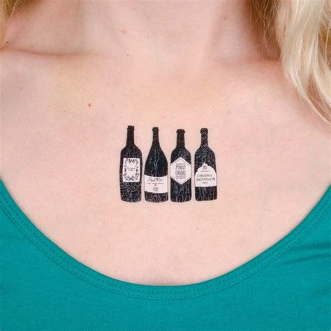 henna tattoo bottle 15 best wine ink images on