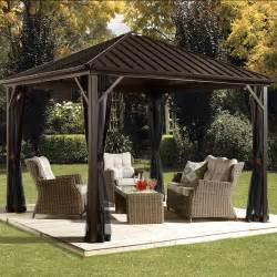 Better Homes And Gardens Gazebo by Better Homes And Gardens Archer Ridge 3 Tier Gazebo With