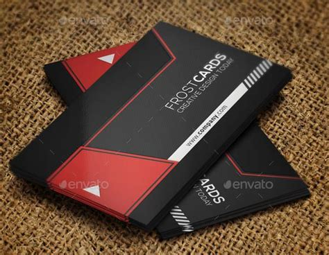 create cool business cards template 53 best premium business card template designs free