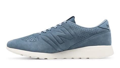 New Balance 420 St Reengineered White Blue real cheap uk blue with white new balance 420 re engineered leather s running shoes mrl420da