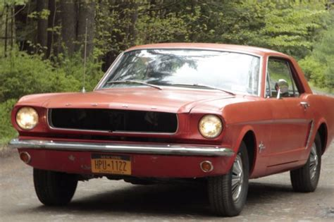 1965 ford mustang 6 cylinder southern car no rust
