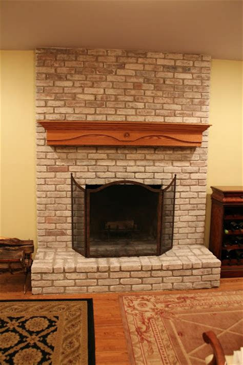 how to paint a brick fireplace monk s home improvements