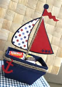 Nautical Theme Favors by Boat Nautical Favor Box Treat Box Set Of 10