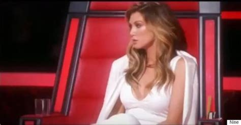the voice australia jessie j delta goodrem and benji delta goodrem threatens to kill jessie j as pair come to