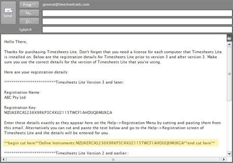 email register registering timesheets lite timesheet software weblog