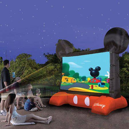 Floor And Decor Credit Card disney mickey mouse inflatable 10ft diagonal outdoor movie