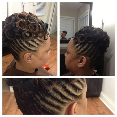 Pin Curls Black Hairstyles by Pin Curl Hair Style On Black Pin Curls Hairstyles Black