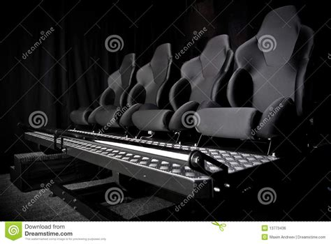armchair cinema armchair in cinema 3d royalty free stock image image 13773436